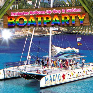 23rd August – Boat Party (Deposit only)