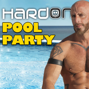 31st August – Hard on pool party