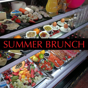 25th August – Summer Brunch – MAUU Cafe